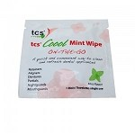 tcs® Coool Mint Wipes