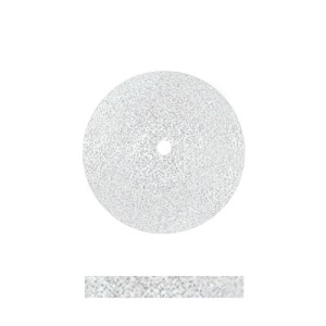 WHITE COARSE CERAMIC 11/16''X3/32'' 12/BX